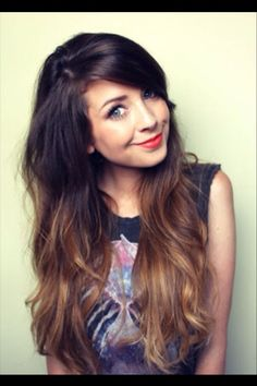 ombre hair brunette. LOOOOVE THIS ONE!!!!