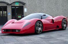 Infinitely more sexy version of an Enzo. The Amazing Ferrari P4/5