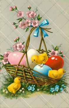 A very happy Easter from my house to yours xoxo Easter Vintage, Ostern Wallpaper, Easter Arts And Crafts, Alcohol Ink Crafts, Diy Ostern, Easter Printables, Easter Celebration, Easter Holidays, Valentines Day Decorations