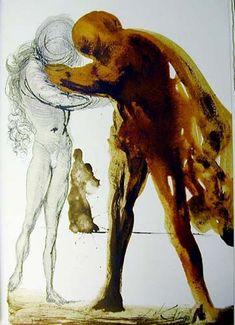 """""""Filius Prodigus"""", 1964 von Salvador Dali (1904-1989, Spain)"""