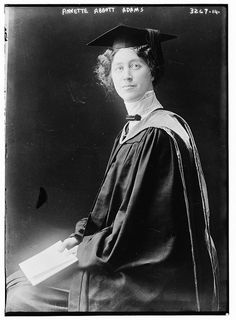 Annette Abbott Adams (1877-1956), first woman to serve as assistant Attorney General of the United States, first woman to serve on the California Supreme Court.