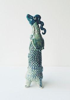 Ginette Wien skulptur - Sangfugl - Tinga Tango Designbutik