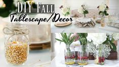 Easy DIY Table Decor