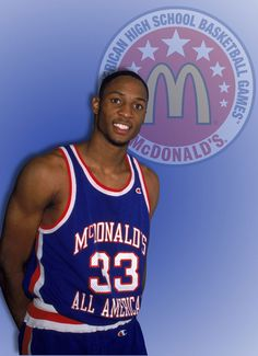 Alonzo Mourning 88 McDonalds All American