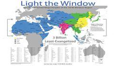 Light the Window Poster - 3 billion Least Evangelized