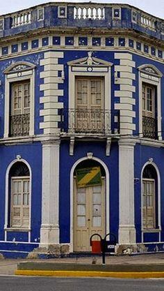 Prédio da antiga sede da prefeitura de Corumbá - Brasil