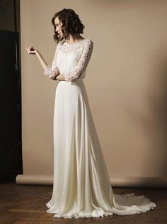 The Loveliest Long-Sleeved Wedding Dresses