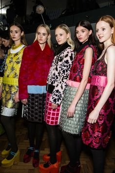 Mary Katrantzou Fall 2015 RTW Backstage – Vogue