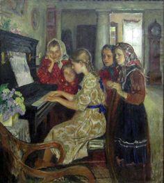 Богданов-Бельский Н.П. Ученицы