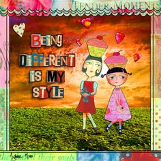 Being different....
