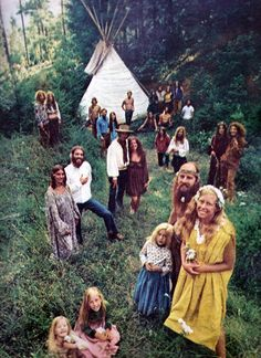 Hippie Communes 1960S | Just Wasn't Made For These Times // 1960s hippie commune
