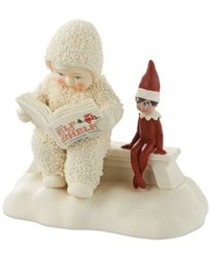 THE ELF ON THE SHELF~Department 56 Elf on the Shelf Story Snowbabies Collectible Figurine