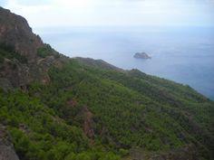 Monte Roldan e isla de Los Palomos