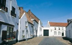 Het witte dorpje Thorn. NL