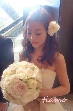 美人花嫁さまの素敵な3スタイル♡後編♡ 大人可愛いブライダルヘアメイク『tiamo』の結婚カタログ