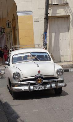 Classic Car in Parque Vidal, Santa Clara, Villa Clara, Cuba Taken on April 30, 2015 by Czarina FengZeTian