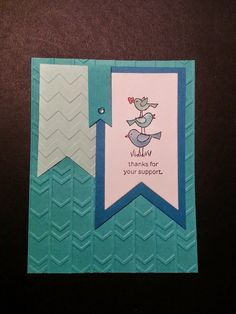 Sweetly Inked For the Birds Stampin' Up!