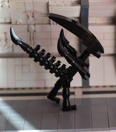 Alien Lego Moc di Giuditta Giordano