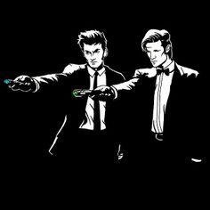 David Tennant & Matt Smith Doctor Who T Shirt Offer