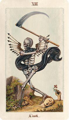 Pagan Otherworlds Tarot, Death.