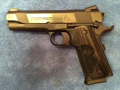 """Colt 21st Century Commander, designed by Wiley Clapp.  """"Everything you need, Nothing you don't.""""  The Original 21st Century Commander.  Talo Edition."""