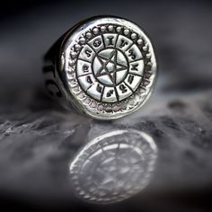 Teale Coco 'Occultism' Tablet Ring - FRONT - available on WWW.TEALECOCO.COM