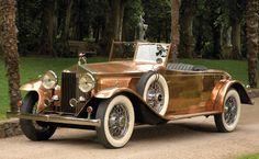 1930 Rolls-Royce Phantom II Roadster w/solid copper bodywork...