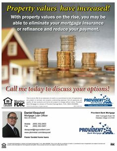 When was your last HOME mortgage check up?   Having regular checkups by a doctor is critical steps to ensure your health. Same applies to your biggest investment your HOME. It is recommend every 6 to12 months. Rates are LOW!!  Let's review your HOME LOAN today. My service is Absolutely FREE, No Obligation! Call Me Today (805)302-2603.
