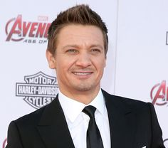 "Jeremy Renner attends the premiere of Marvel's ""Avengers: Age Of Ultron."