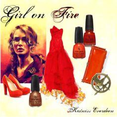 Summer formal:  Katniss/Hunger Games inspired    #brianarenestore