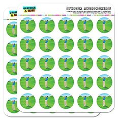 Try This!  Golf Golfing Golfer Sport 1 Scrapbooking Crafting Stickers