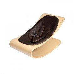 Bloom CoCo Stylewood Baby Lounger- is it art or a baby accoutrement? And do they make these for adults?  See it here! >> http://yourbabybooty.com/gear/fashionista-mama/coco-stylewood-baby-lounger/