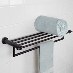 Aylett Double Towel Rack