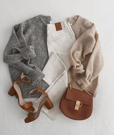 Simple Outfits, Casual Outfits, Cute Outfits, Fashion Outfits, Womens Fashion, Fall Winter Outfits, Autumn Winter Fashion, Winter Style, Mode Jeans