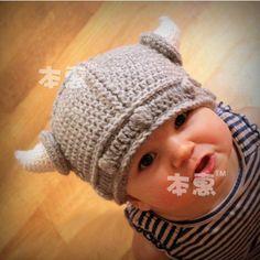 最新の動物の小売男の子の衣装花で幼児子供幼児のかぎ針編みの帽子の小道具photogryphy1pcmzs-017キャップ送料無料