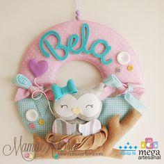 { Mega Artesanal } Quarto Baby Bela: Kit Maternidade | Mamãe Arteira