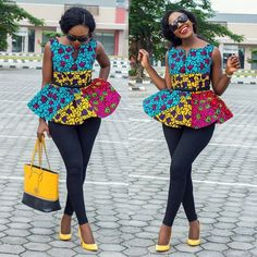Ankara fabric has literally over-time taken over every single event in Africa, and it's not even taking a break as more and more styles spring up every now and then, and we just have to get acquainted else, we bear the risk of becoming outdated with our styles.There are several fabrics...