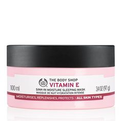 The Body Shop Vitamin E Sink in Moisture Sleeping Mask - £14