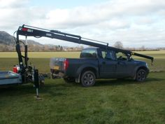 Ifor Williams Trailer Crane - Bailey Forestry Engineering