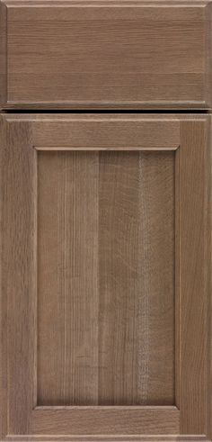 Ultima cabinet door style has casual style and simple details, and is available in several finishes to fit any style.