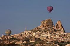 Uçhisar Castle #cappadocia #turkey #travel