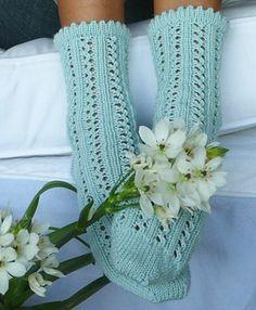 Ravelry: Rainy Day Socks pattern by Yuliya Sullivan Sport weight yarn Knitting Stitches, Knitting Socks, Free Knitting, Knitting Patterns, Crochet Patterns, Crochet Slippers, Knit Crochet, Sport Weight Yarn, Knit In The Round