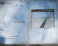 Found Poetry Altered Book  Think You Belonged to the by 88editions, $488.00