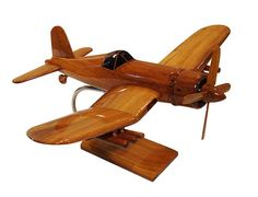 wooden airplane models - Google Search