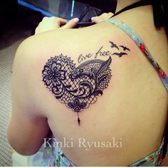 heart lace tattoos – Tattoo Tips Tattoos To Cover Scars, Cover Up Tattoos, Mini Tattoos, Body Art Tattoos, Sleeve Tattoos, Tatoos, Lace Butterfly Tattoo, Lace Tattoo Heart, Lace Tattoo Design