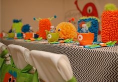 Little Monster Birthday Party — Celebrations at Home