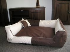 Toppa Dog Sofa Bed Cm Beige Brown