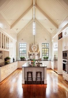 Love this kitchen.  Many of the design elements will work with the new house.