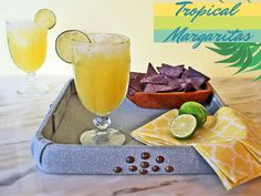Tropical Margarita Recipe >> http://blog.hgtv.com/design/2015/06/08/summery-sips-tropical-margarita-recipe/?soc=pinterest
