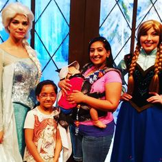 Maleah's wish came true when she finally was able to meet Elsa yesterday! Video loaded onto fb... #kiddreams #herbakids #frozen #disneyadventurepark #disney #annaandelsa #elsa #anna #iceprincess #sohappy by jasmeenmunif